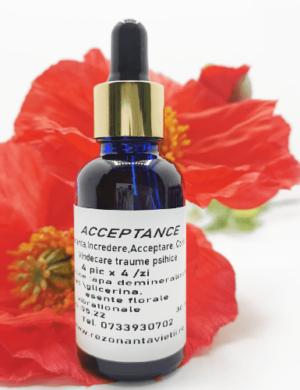 Acceptance – remediu floral pentru acceptarea cu ușurință a schimbărilor