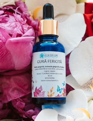 Gură Fericită – remediu floral pentru gingivită, rectracție gingivală și halitoză