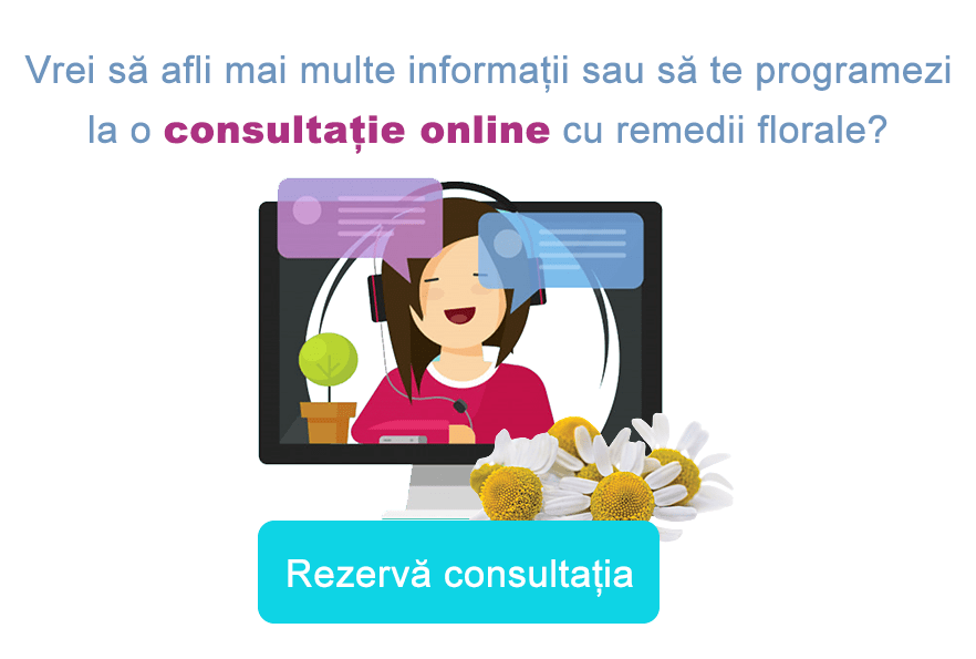 Consultatie online remedii florale